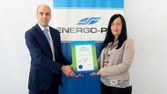 Енерго-Про Енергийни услуги връчи второ удостоверение за зелена енергия