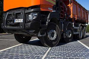 Започна изграждането на първата отсечка със соларна настилка във Франция
