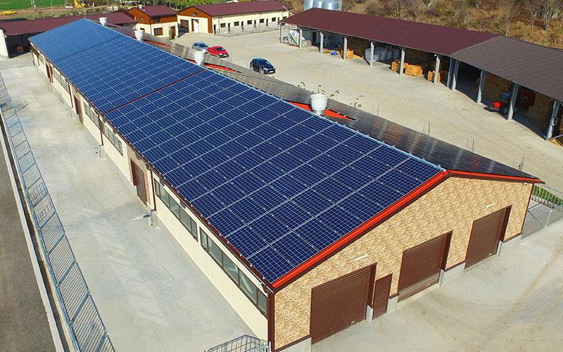 Филкаб Солар изгради покривна фотоволтаична система във ферма за кози