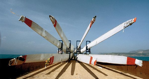 Vestas инсталира 100 GW вятърни турбини