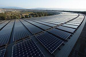 Apple вече използва само възобновяема енергия